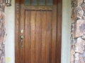 Classic Wood Enrty Door