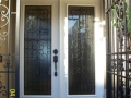 Glass Enrty Door Installation